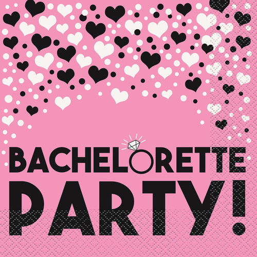 bacheloreet party napkins
