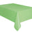 Light Green Rectangle Plastic Tablecover