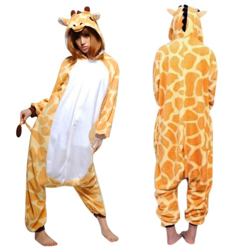 giraffe onesie, adult animal onesie