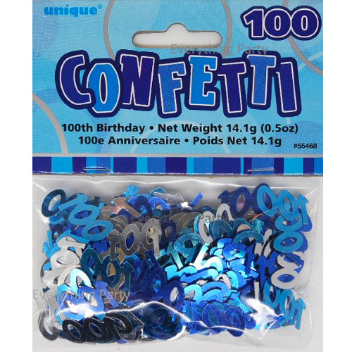 100th birthday scatters, 100 days birthday confetti