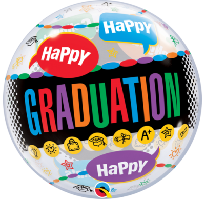 happy graduation balloon