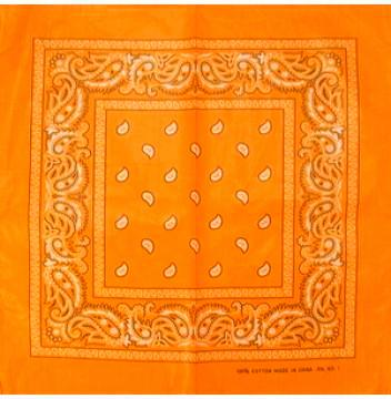 orange assorted bandana