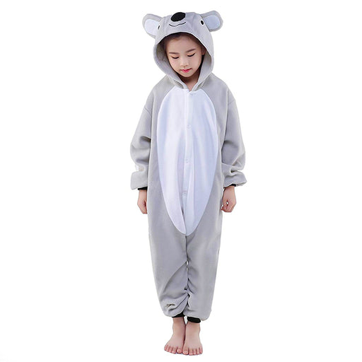 kids koala onesie, kids animal onesie