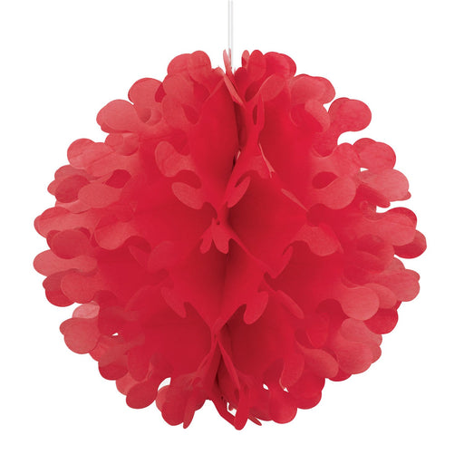 red flutter ball