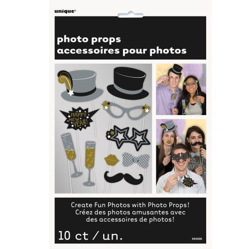 new year photo props