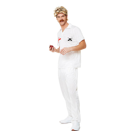 80's cricket player costume