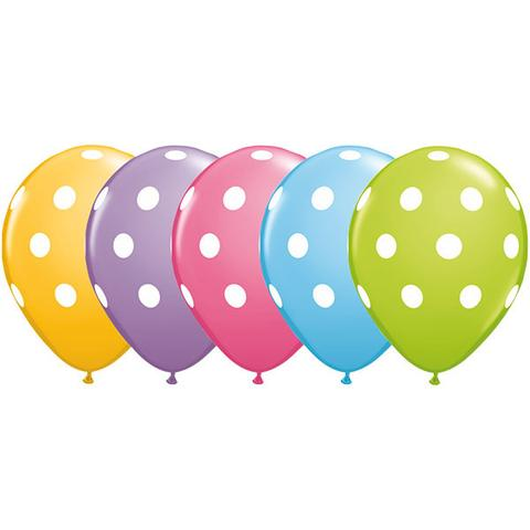 polka dots balloon