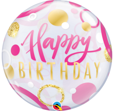 Bubble Balloon, qualatex birthday bubbles balloon