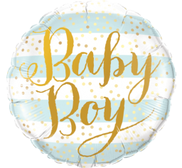 baby boy balloon, baby shower balloon