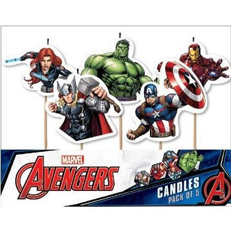 avengers birthday candles