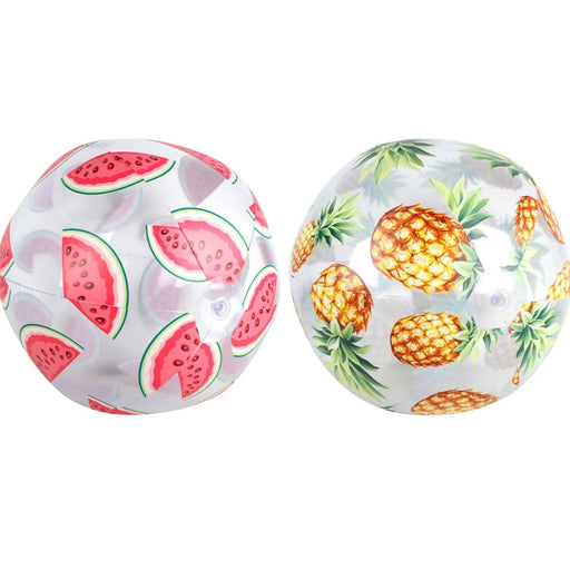 Tropical fruit beach ball