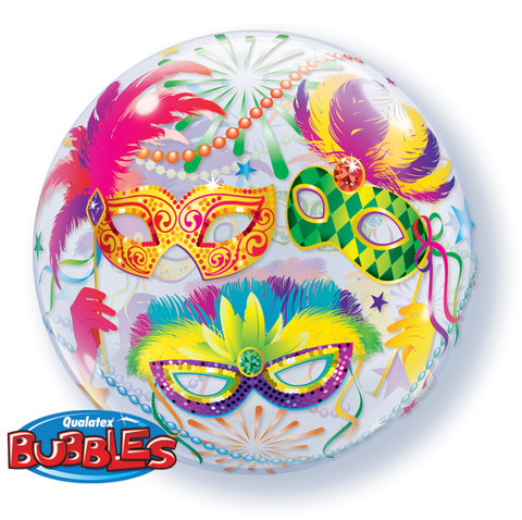 Bubble Balloon, qualatex birthday bubbles balloon, Masquarade balloon