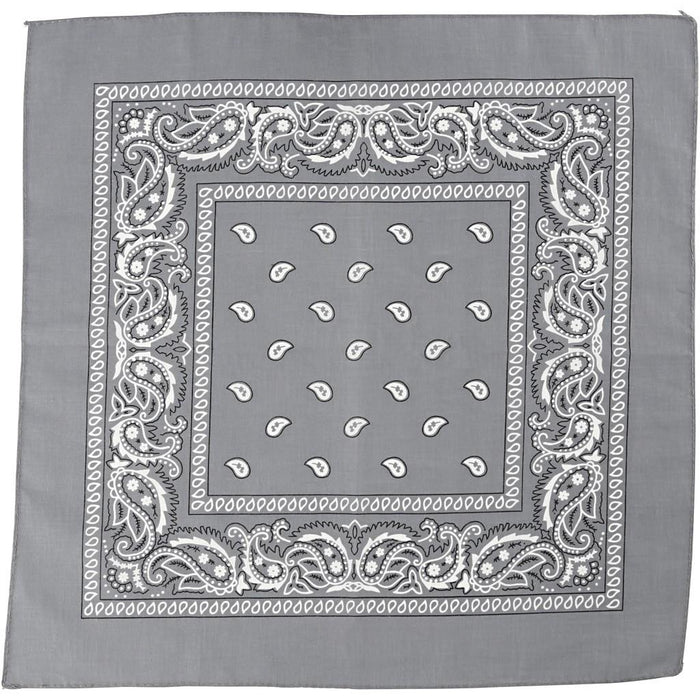 Grey assorted bandana