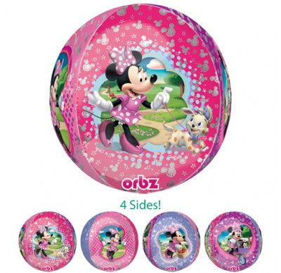 minnie mouse foil balloon, minnie helium balloon