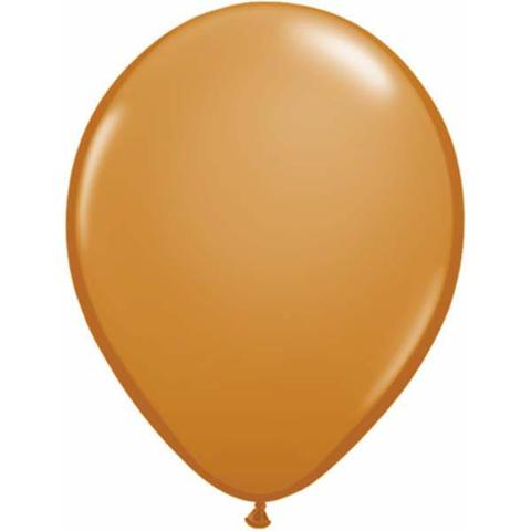 mocha brown balloon