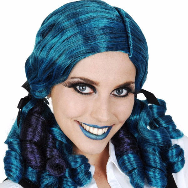Ashley ringlets blue wig
