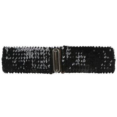 Sequin Party Belt (Gold, Black, Silver)