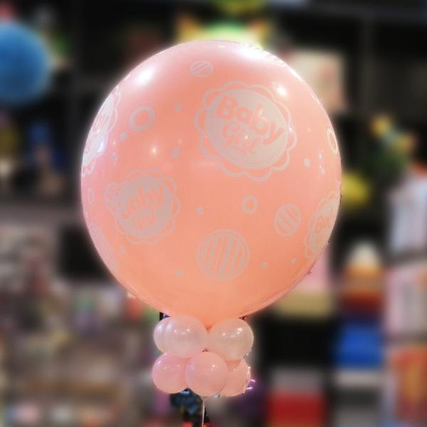 90cm Baby Shower, baby girl Helium balloon