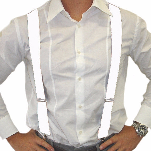 White Suspender