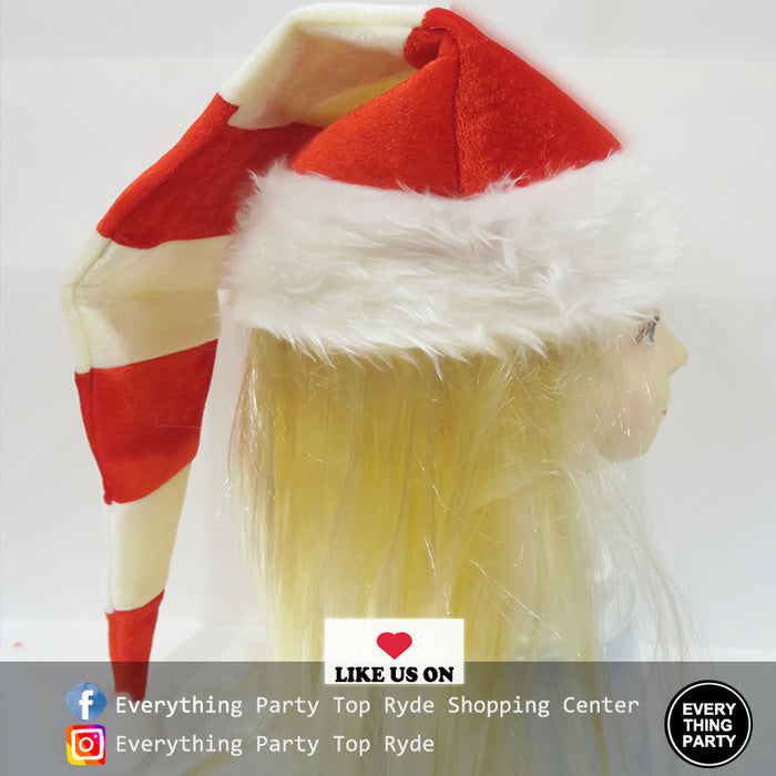 Christmas - Red & White Strip Hat