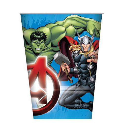 avengers paper cups, super hero cups