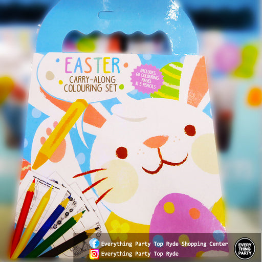 easter colouring set