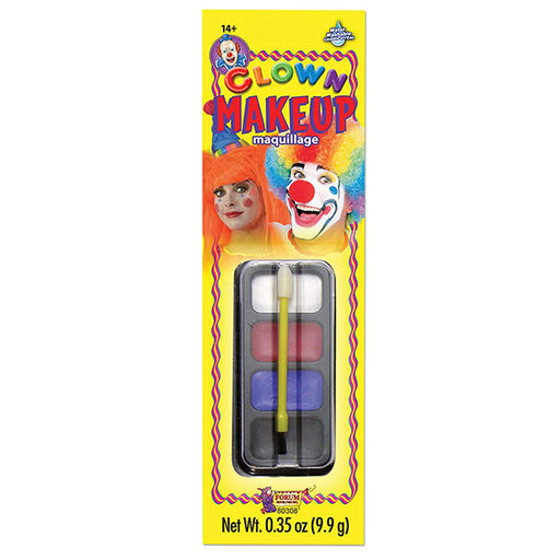 clown makeup, clown face paint, clown face makeup