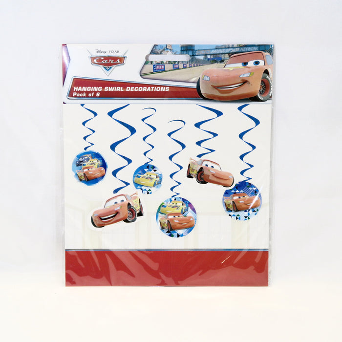 Racing Car Swirl Hanging Decoration