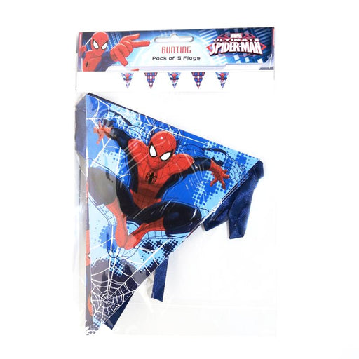 spiderman banner, spiderman bunting