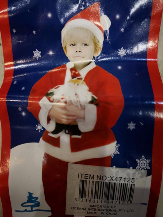 Kids - Christmas Santa Costume