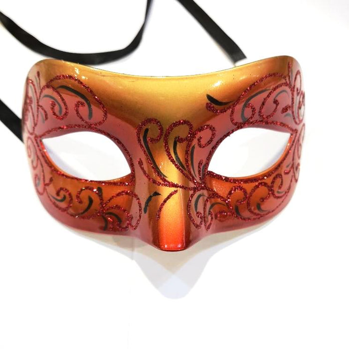 Metallic Clothing Mask with Glitter