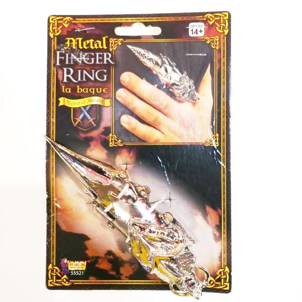 Medieval Metal Finger Ring
