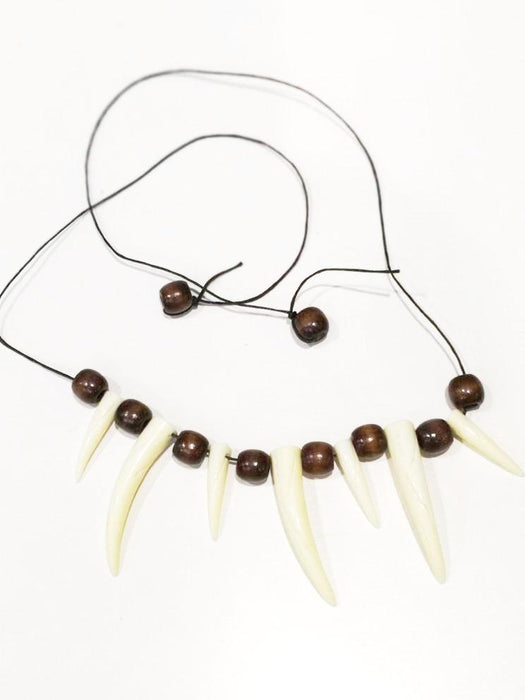 caveman necklace