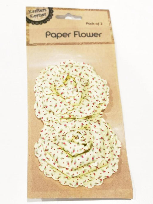 2pk Craft Paper Flower