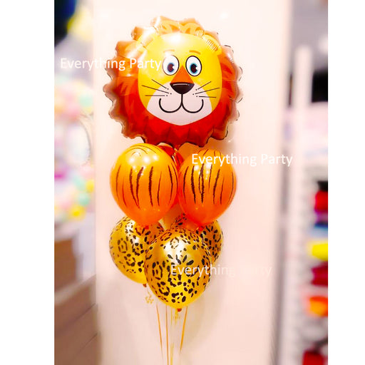 Lion Foil Helium Balloon bouquet