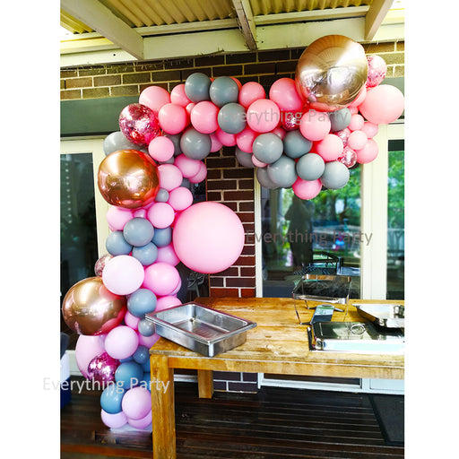birthday balloon garland