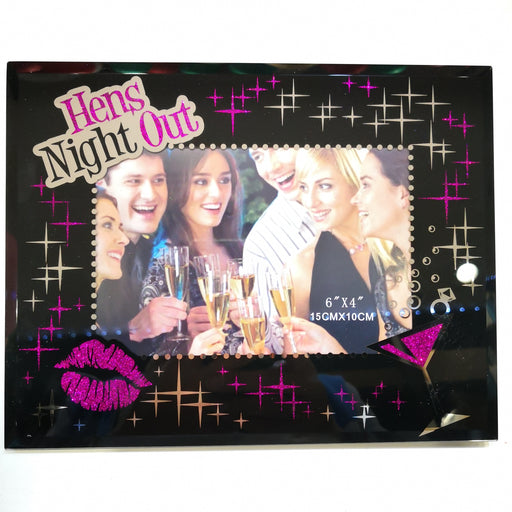hens night photo frame