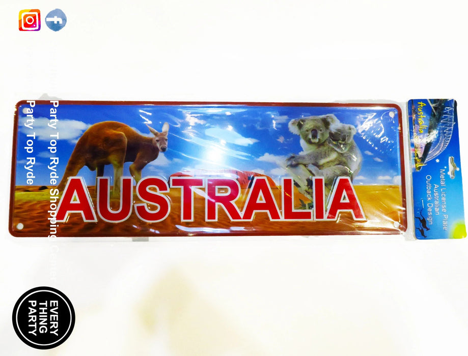 Australia Day - Metal Plate,Decoration - Everything Party