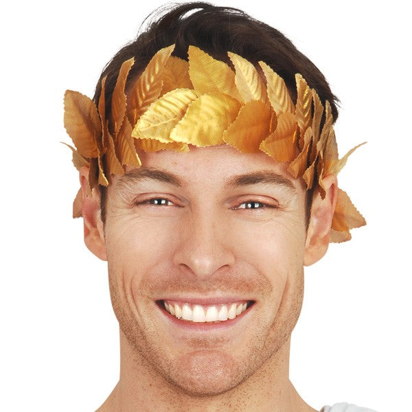 Gold Leaf Headband,Accessories - Everything Party