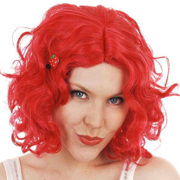 Strawberry Curls Red wig