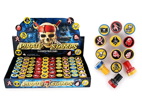 10pk Pirate Stamps