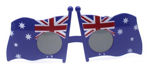 Australian Flag Glasses