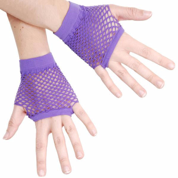 Short Fishnet Gloves