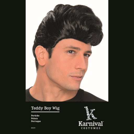 rock n roll wig, teddy boy wig