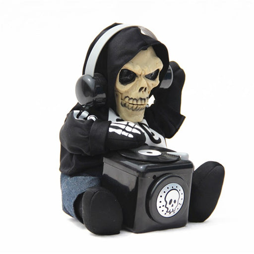 Halloween skeleton props Electric Sound control DJ Ghost