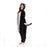 black cat onesie, adult animal onesie