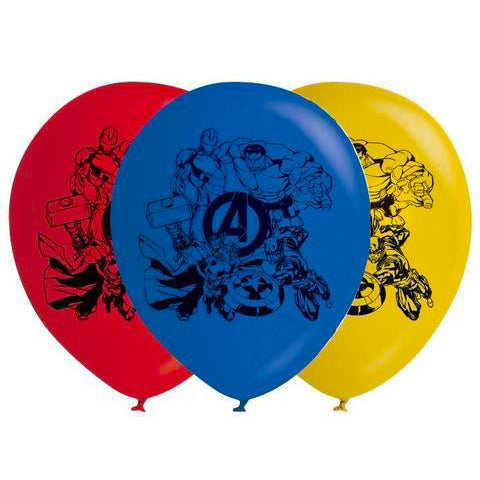 Avengers helium balloon, avengers latex balloons, super hero helium balloon