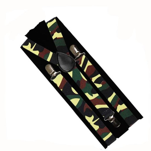 camouflage suspenders