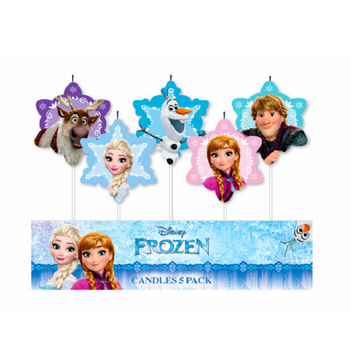 frozen birthday candle, frozen cake candle