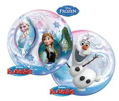 Frozen balloon, licensed disney frozen helium balloon